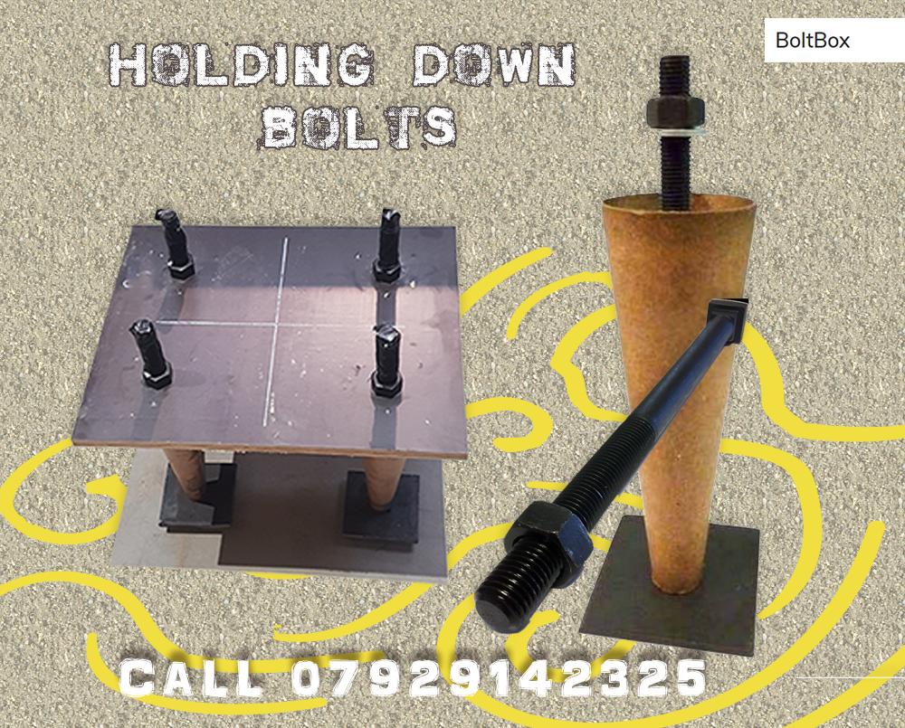 boltbox holding down bolts Supplier, Manchester, London, Birmingham