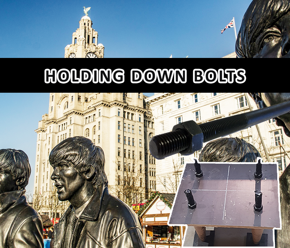holding down bolts LIVERPOOL